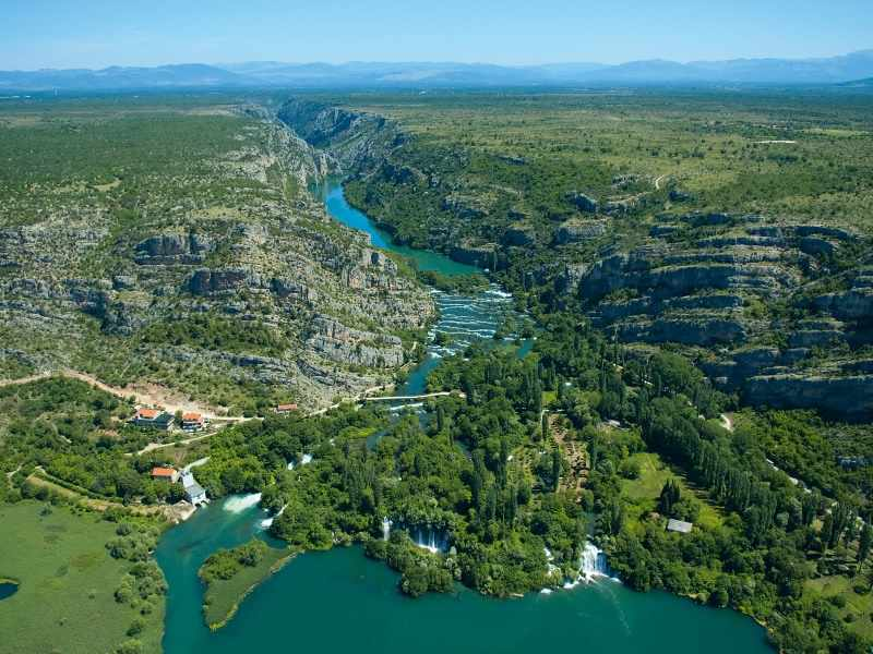 Krka,Canyon